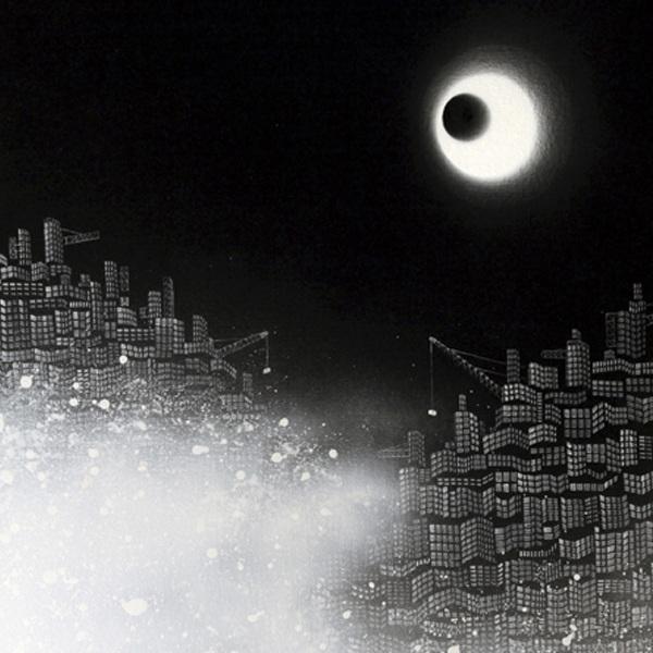 """"""" Lost City No.9 """", 100x60cm, Acrylic on canvas, 2010"""